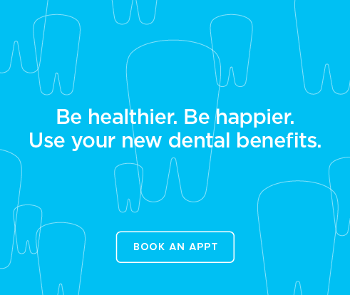 Be Heathier, Be Happier. Use your new dental benefits. - Diamond Dental Group
